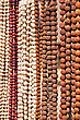 Indian Beads On The Market, South India stock photo