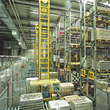 Industiral Warehouse stock image
