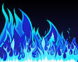 Inferno Fire Vector Background