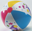 Inflatable Beach Ball stock photography