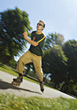 Inline Skating stock image