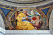 Inside Of Vatican Museum. stock image