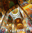 Interior Of The Church Of The Savior On Spilled Blood In St. Petersburg, Russia stock photography