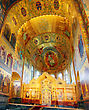 Interior Of The Church Of The Savior On Spilled Blood In St. Petersburg, Russia stock photo