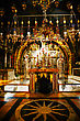 Interior Of The Church Of The Holy Sepulcher stock photo