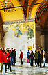 ISTANBUL - APRIL 9: Interior Of Hagia Sophia In Istanbul On April 09, 2013. Hagia Sophia Is A Former Orthodox Patriarchal Basilica (church), Later A Mosque, And Now A Museum stock image