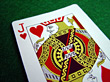 Jack of Hearts stock photography