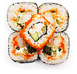 Japan Sushi Rolls stock photography