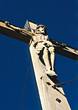 Statues Jesus Christ Crucifix stock photo