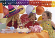 Kid's Brithday Party stock image