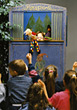 Kids At A Puppet Show stock photo