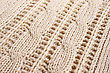 Knitted Cloth As A Background. stock photo