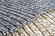 Knitted Colorful Wool Fabric, Background. stock photo