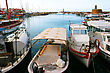 Harbour Kyrenia Old Port In Northern Cyprus. stock photography