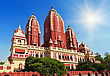 Laxmi Narayan Temple, New Delhi, India stock image