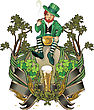 Leprechaun Gnome St. Patrick Day