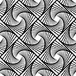 Line Seamless Background. Ornamental Endless Texture. Oriental Geometric Ornament