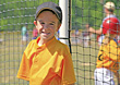 Little Baseball Player stock photo