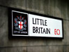 Great Britain Little Britain Sign stock photo