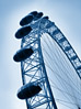 London Eye / Millennium Wheel, London, England stock photo