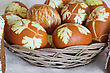 Orthodoxy Lot Easter Colorful Eggs stock photography