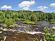 Lower Tahquamenon Falls, Michigan , USA stock photography