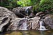 Lukkam Waterfalls In The Jungle, India