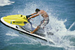 Action Sports Man Jetsking stock image