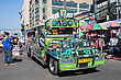 MANILA, PHILIPPINES - MARCH 17: Jeepney On Manila Street On March, 17, 2013, Manila, Philippines. Jeepney Is A Most Popular Public Transport On Philippines
