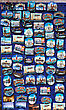 Many Souvenir Magnets With Images Of Venice. Italy. stock photography