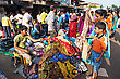 MAPUSA, INDIA - APRIL 06: People Including Unidentified Children Of 10-14 Years On Friday Market On April 06, 2012, Mapusa, India. Friday Market Is A Major Market In Goa And A Major Tourist Attraction stock image