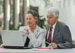 Mature Business People stock photography