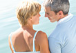 Couples Lifestyle Mature Couple Looking at Each Other stock photo