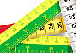 Precision Measuring Tape stock image