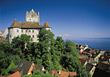 Meersburg, Germany stock image