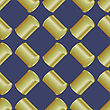 Metal Cans Seamless Pattern On Blue Background