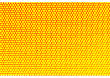 Metal Holed Grid Background Yellow Hole. Vector Illustration