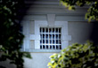structure bars architectural windows architecture stock photo