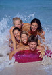 water teen fun recreation people spring stock image