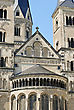 Minster, One Of The Oldest Churches In Germany, Emblem Of The City Of Bonn stock photography