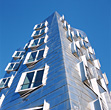 Modern Office Building, Dusseldorf , Germany stock image