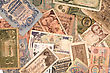 Yuan Money Background stock image