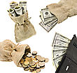 Hundred Money stock photography