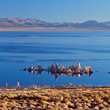 Mono Lake, California stock image