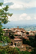 Montalcino, Toscany stock photography