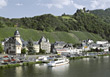 Mosel, Bernkastel-Kues stock photo