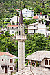 Mosque In Stari Grad (Old Town), Bar In Montenegro stock photo