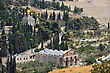 Mount Of Olives, Church Of All Nations And Church Of Mary Magdalene, View From The Walls Of Jerusalem. stock image