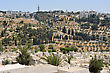 Mount Of Olives And The Russian Orthodox Tower And Church Of The Ascension stock photography