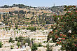 Mount Of Olives And The Russian Orthodox Tower And Church Of The Ascension stock photo